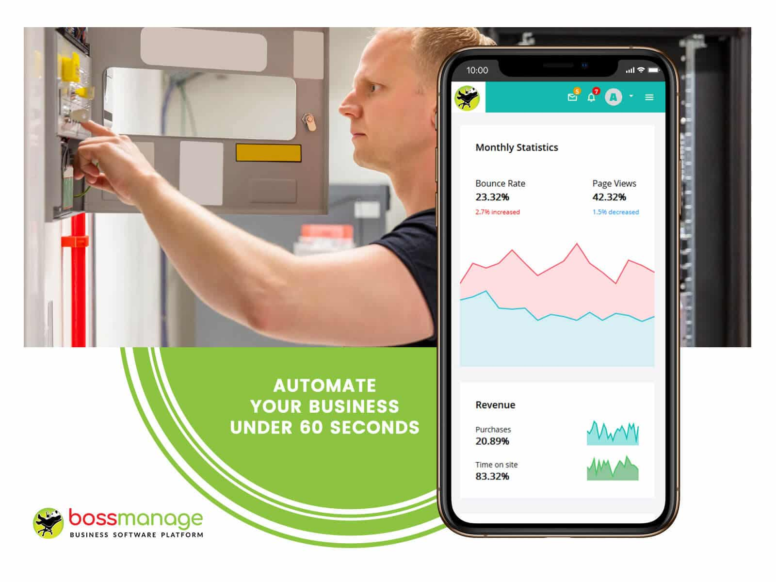 Security and Alarm management system, BossManage